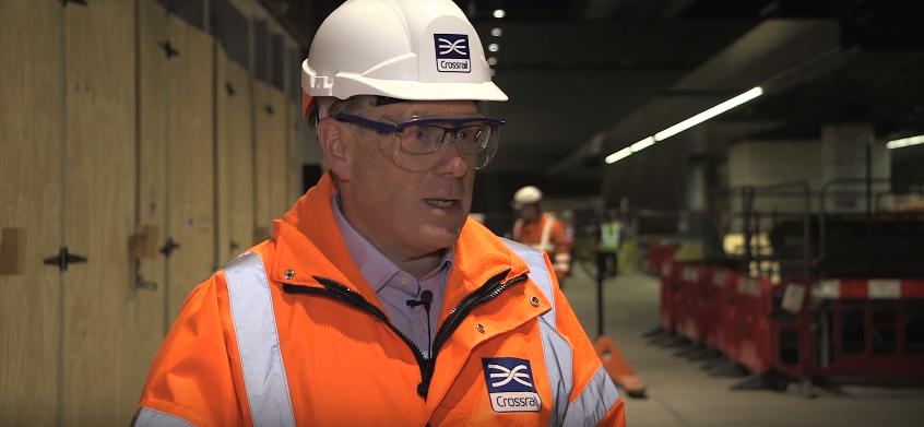 Crossrail CEO Andrew Wolstenholme.