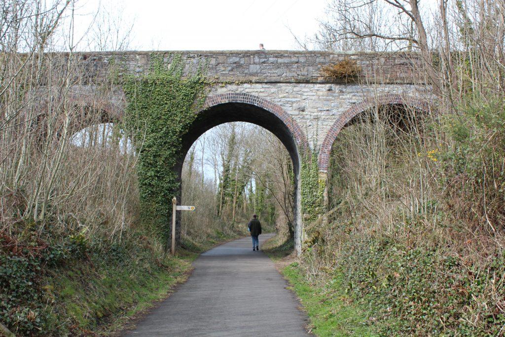 Railway Ramblers take the Dyserth branch North Wales. Photo: David Bickell.
