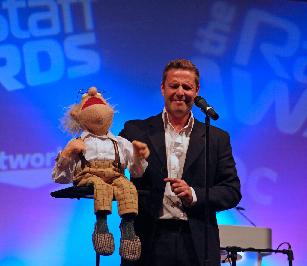 Paul Zerdin in 2009.