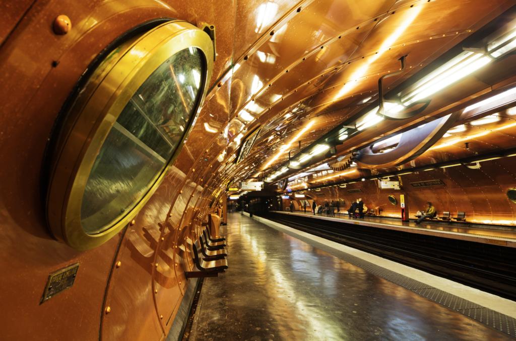 Arts et Métiers station. Photo: iStock.